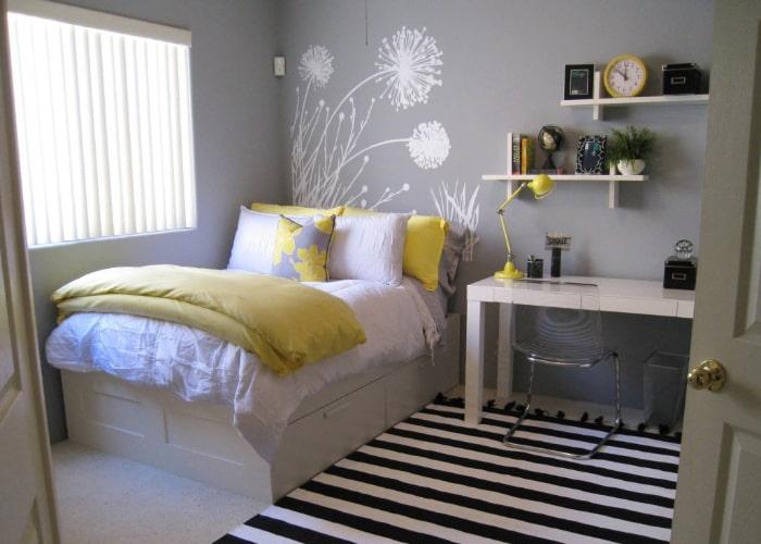 Phòng ngủ nhỏ phong cách tối giản