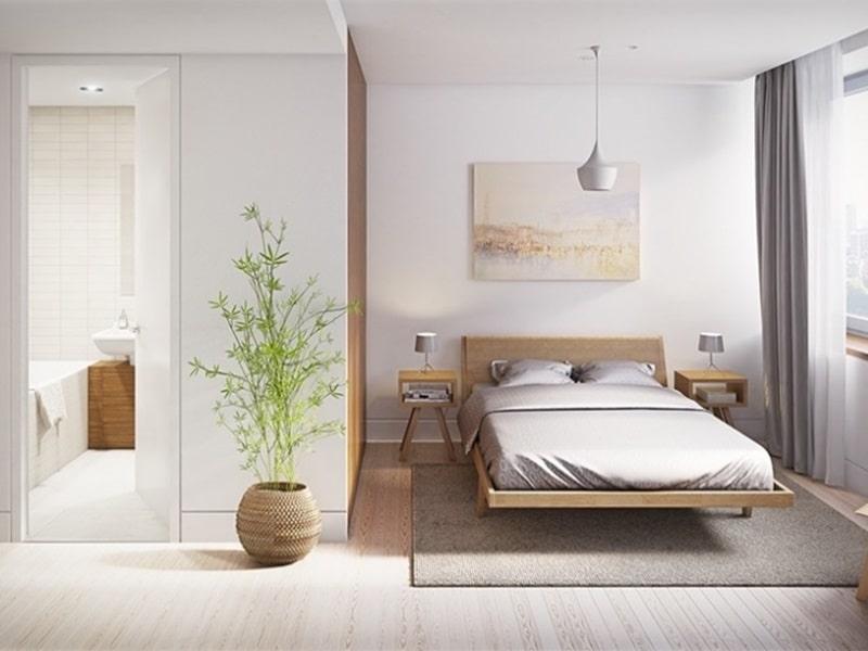 phòng ngủ nhỏ 16m2