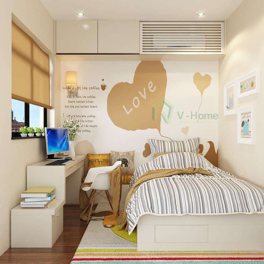 phòng ngủ 6m2