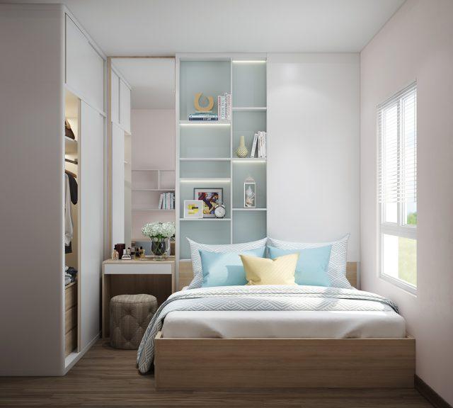Mẫu thiết kế phòng ngủ 6m2