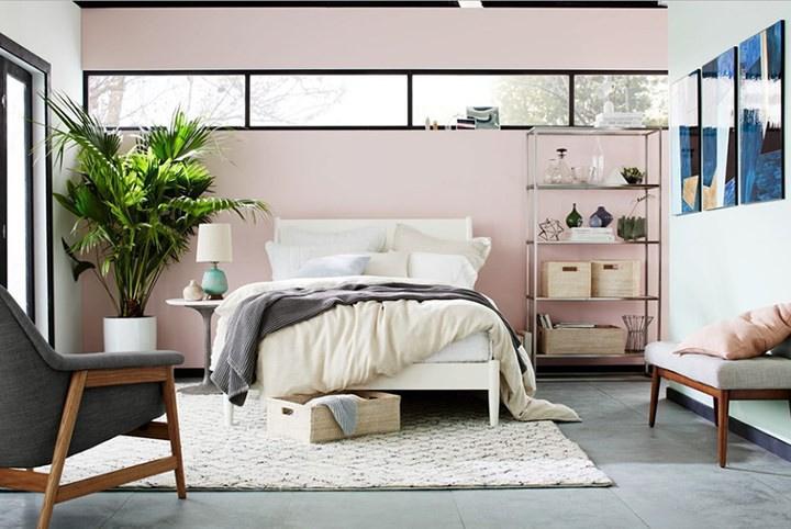 phòng ngủ cho các cô nàng độc thân thanh lịch