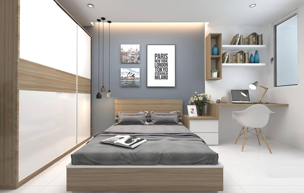 Phòng ngủ cho các cô nàng độc thân