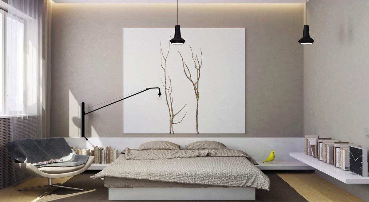 phòng ngủ cho cô nàng độc thân đơn giản đẹp