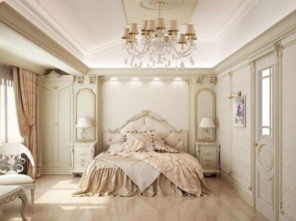 Phòng ngủ cổ điển sang trọng