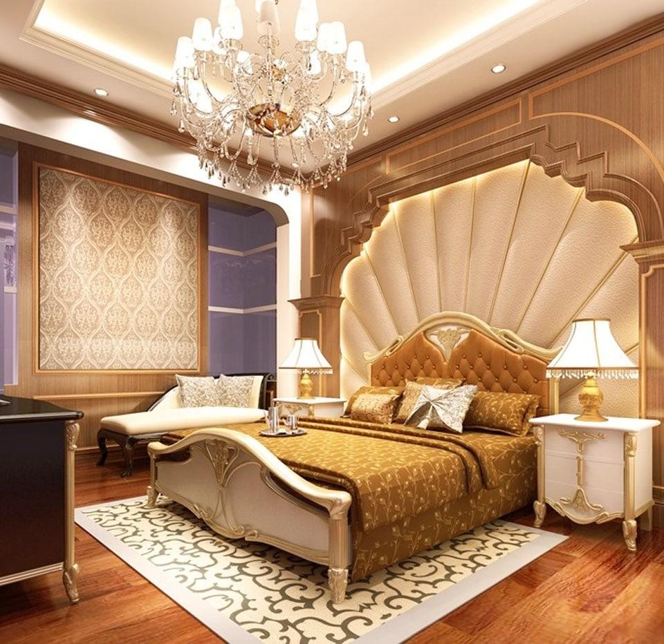 Mẫu phòng ngủ cổ điển