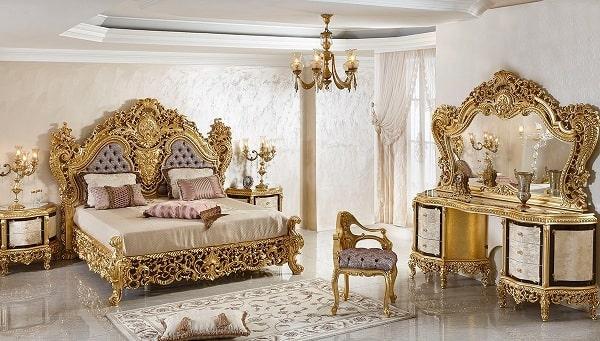 Phòng ngủ thiết kế cổ điển