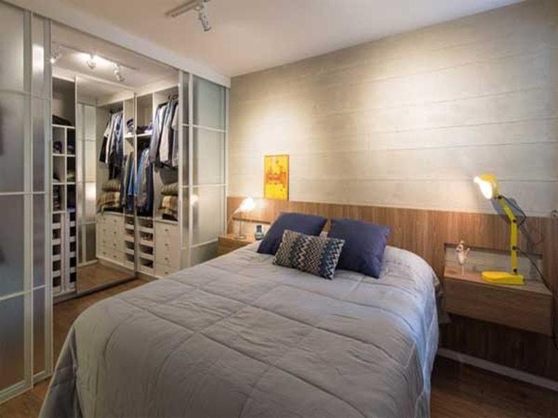 Thiết kế phòng ngủ có phòng thay đồ