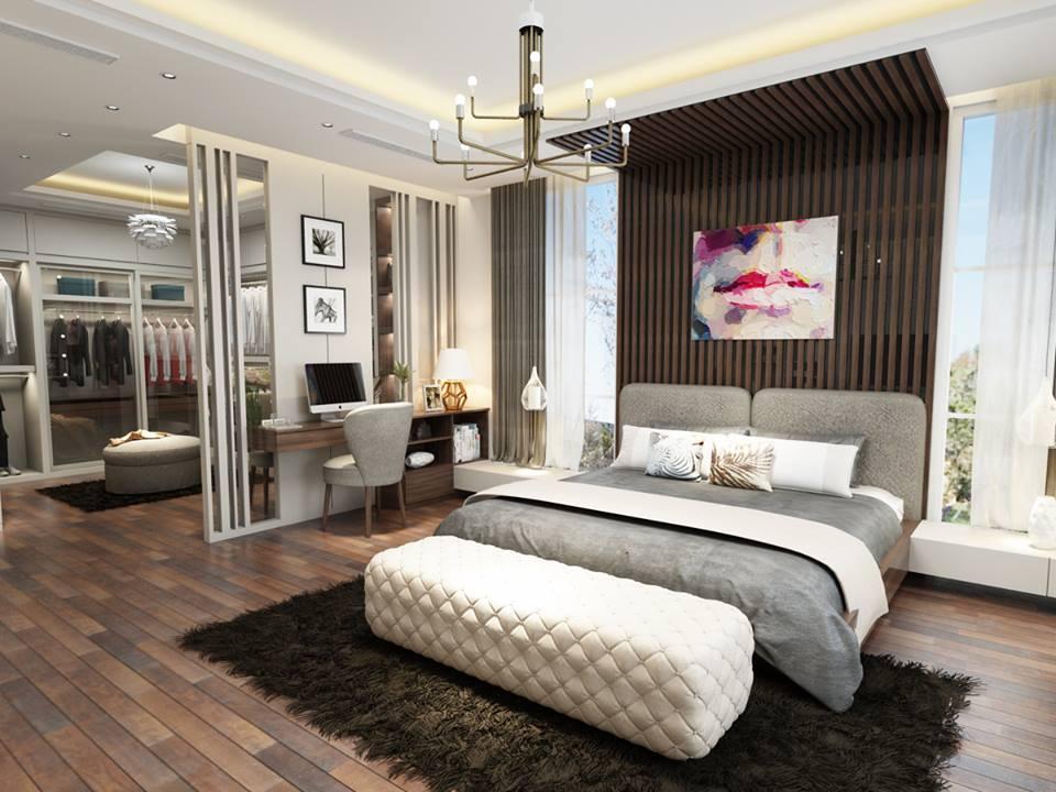 Tối ưu diện tích phòng ngủ bằng nội thất có ngăn kéo
