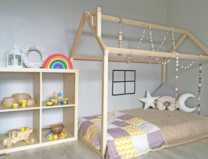 Phòng ngủ gác mái lấp lánh