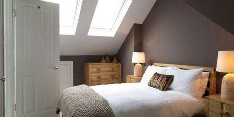 Phòng ngủ gác mái