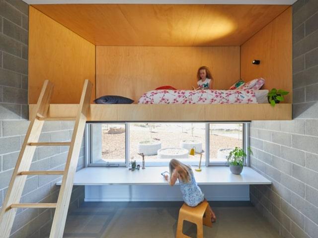 mẫu phòng ngủ có gác lửng