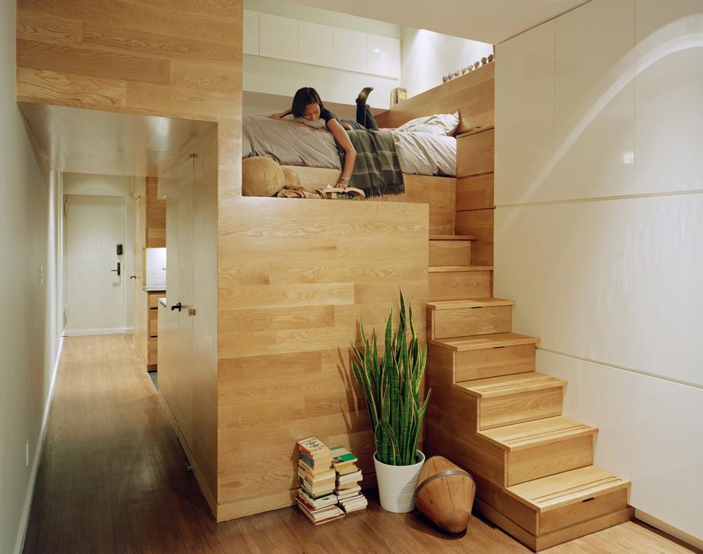 thiết kế phòng ngủ gác lửng
