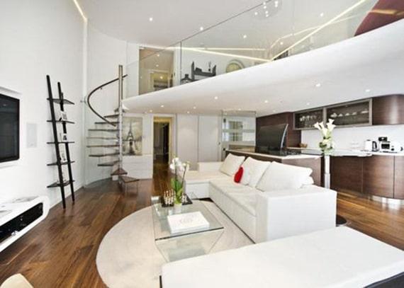 thiết kế phòng ngủ trên gác lửng