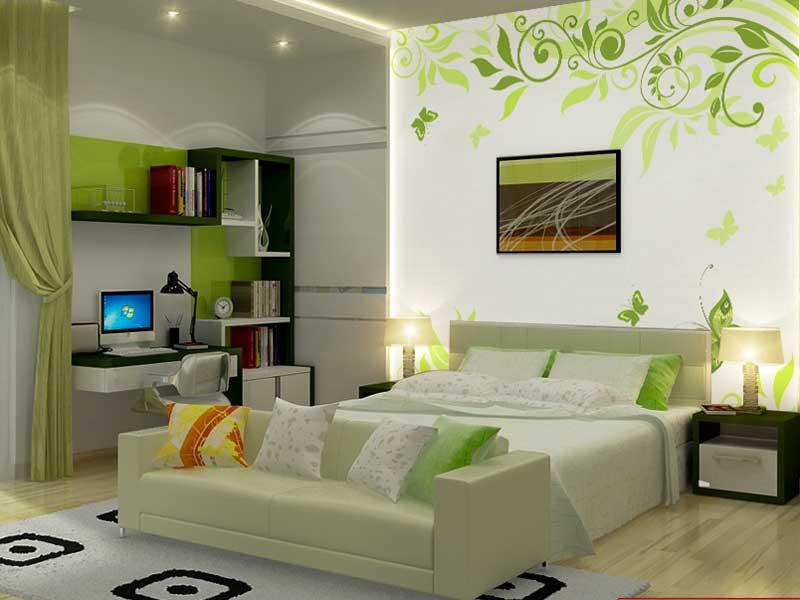 phòng ngủ đẹp hàn quốc