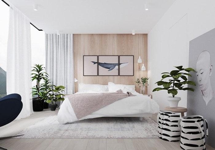 phòng ngủ style hàn quốc