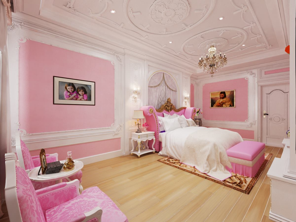 decor phòng ngủ hàn quốc