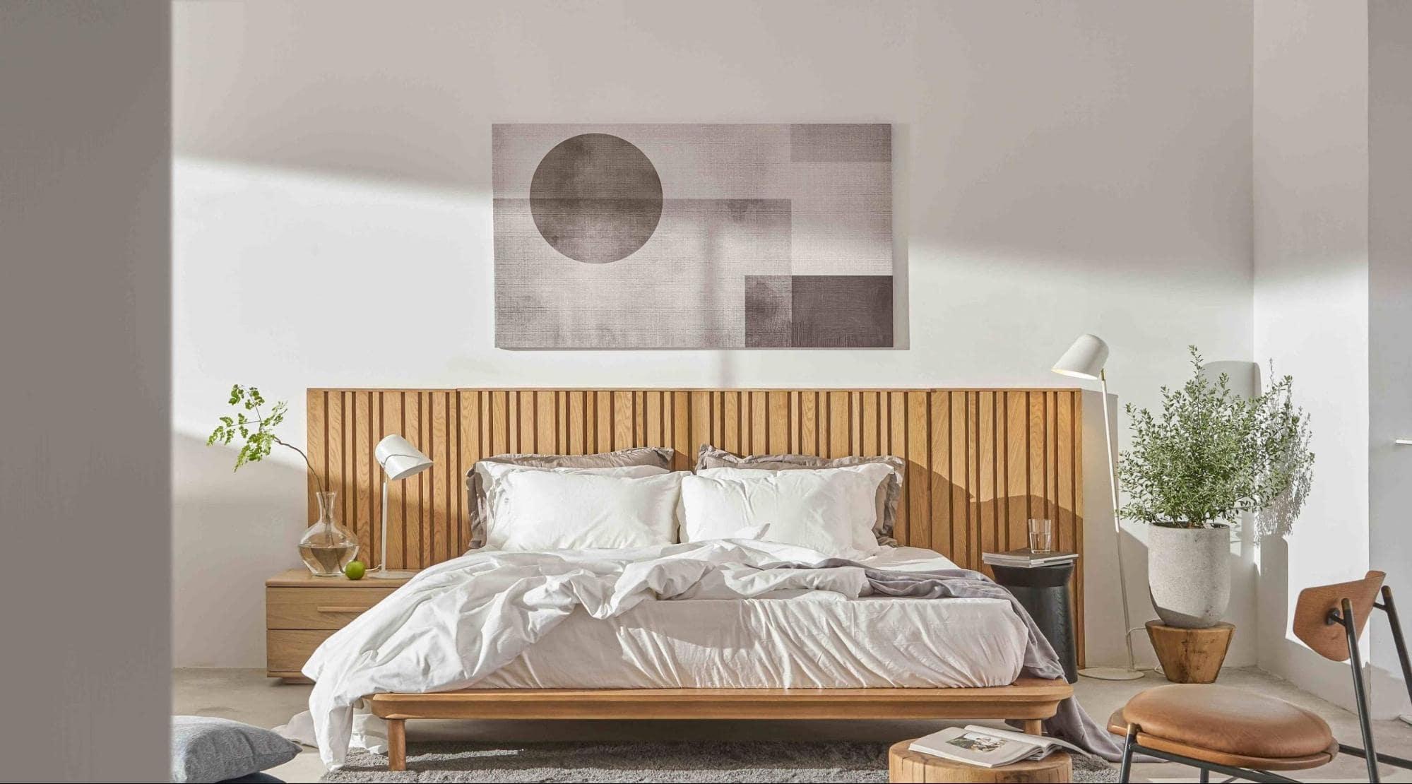 cách bố trí phòng ngủ kiểu nhật