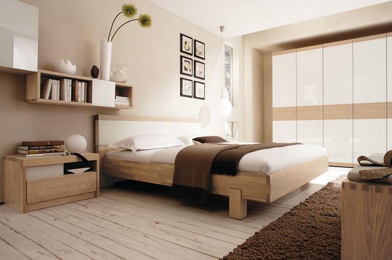 bố trí phòng ngủ kiểu nhật