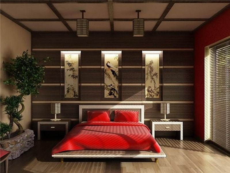phòng ngủ kiểu nhật đẹp