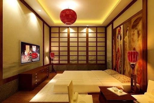 mẫu phòng ngủ kiểu nhật