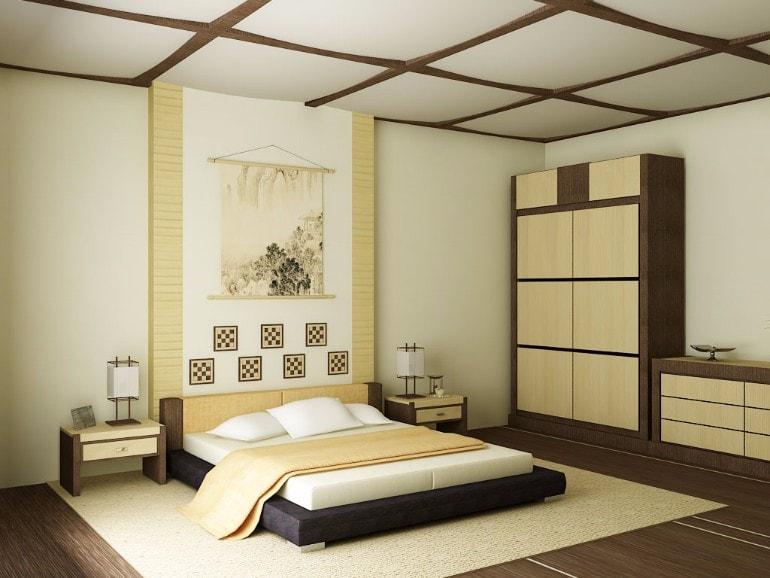 phòng ngủ kiểu nhật bản