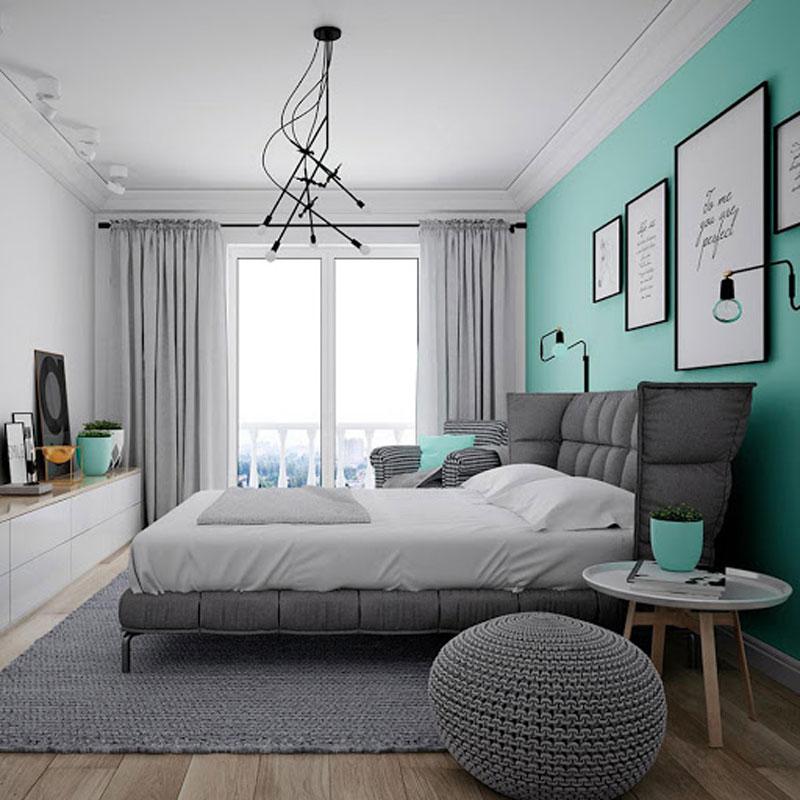phòng ngủ sơn màu nào