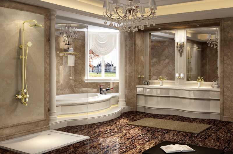 phòng tắm đứng bằng kính