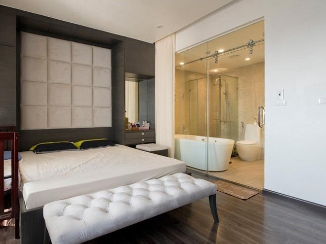 sắp xếp Nhà vệ sinh phòng ngủ