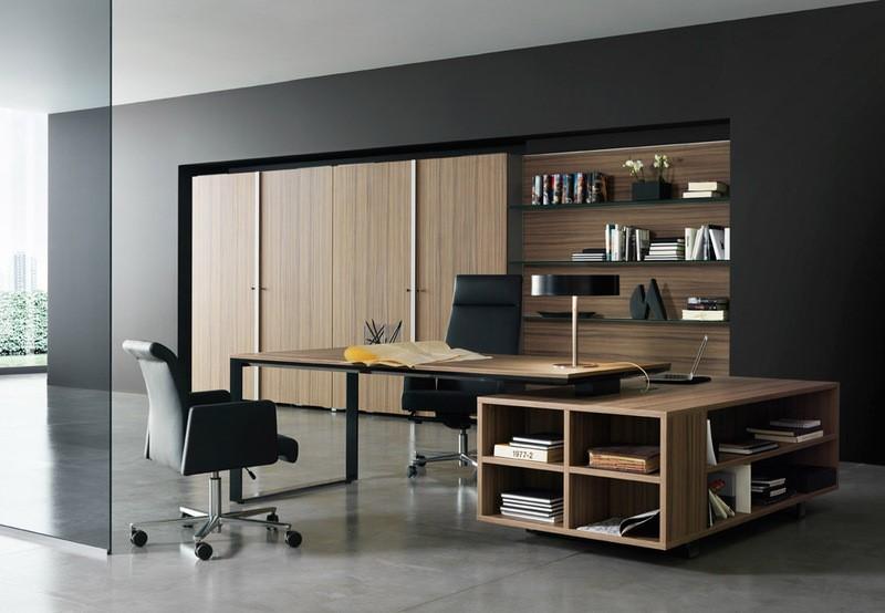 mẫu thiết kế văn phòng làm việc cá nhân