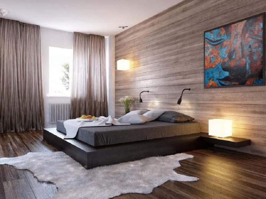 phòng ngủ không giường hiện đại