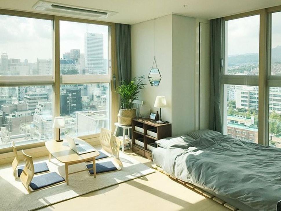 thiết kế phòng ngủ không giường