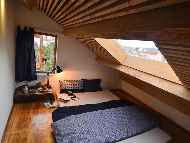 phòng gác mái không giường