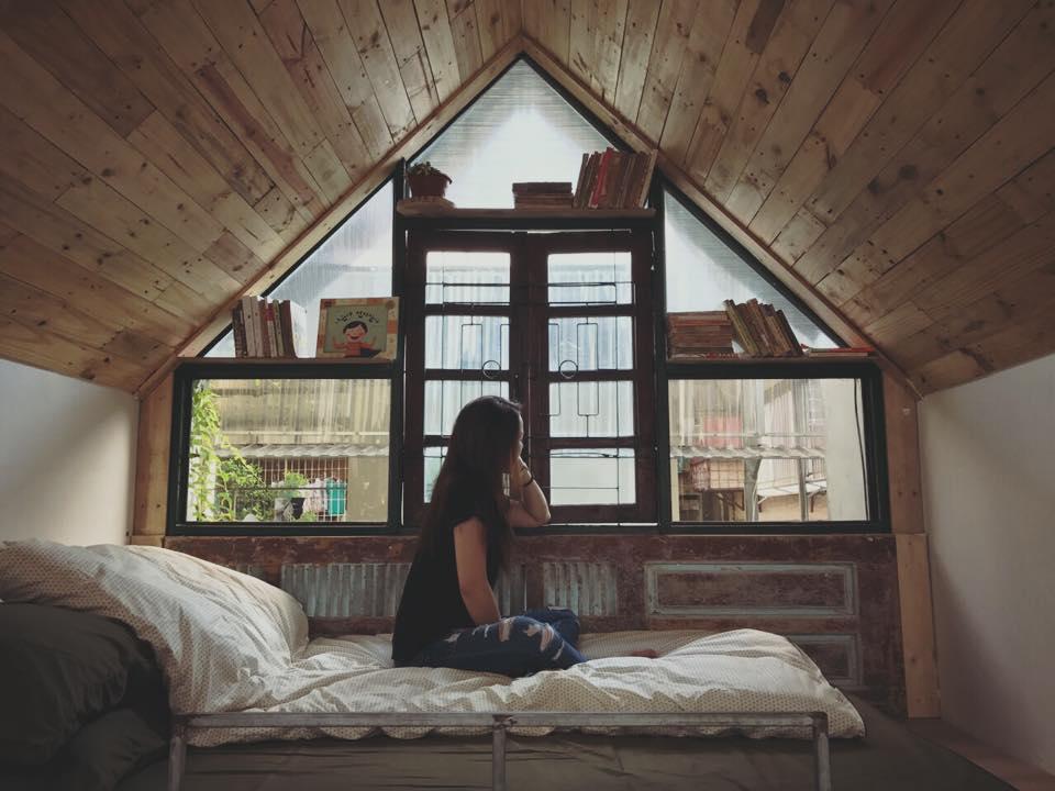 thiết kế phòng ngủ không cần giường