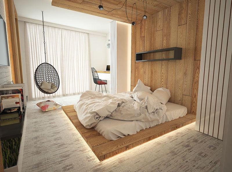 Mẫu thiết kế phòng ngủ không giường