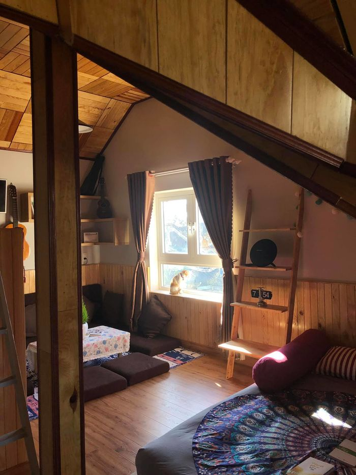 Mẫu phòng ngủ không giường ấm cúng