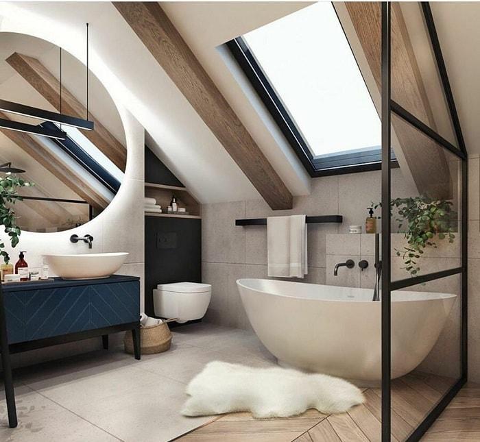 thiết kế phòng tắm 10m2