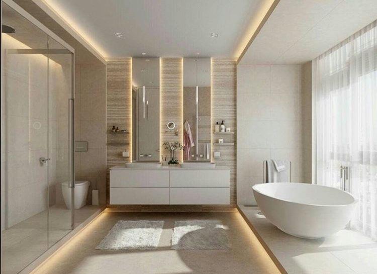Thiết kế nhà tắm hiện đại 10m2