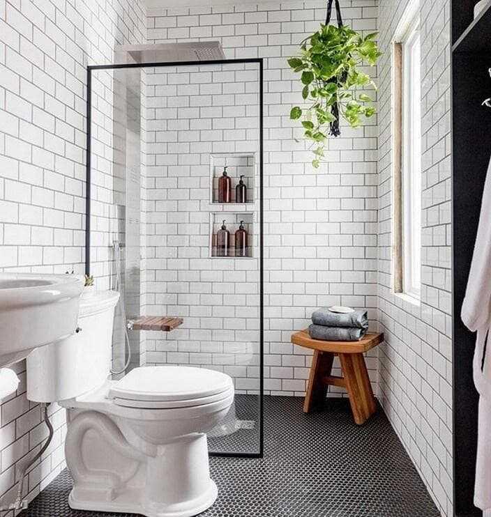 thiết kế phòng tắm nhỏ hẹp