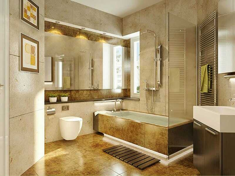 bố trí phòng tắm 4m2