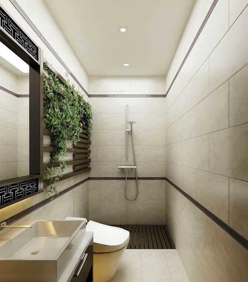 Phòng tắm 5m2 đẹp
