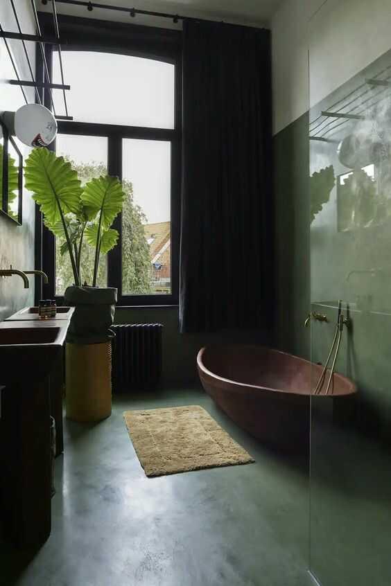Bố trí phòng tắm 5m2 hiện đại