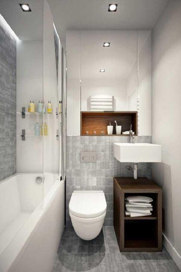phòng tắm 5m2 hiện đại