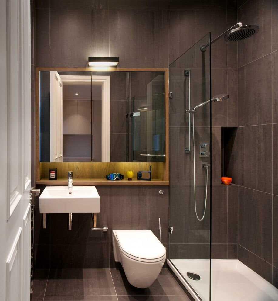 Bố trí phòng tắm 5m2 đẹp