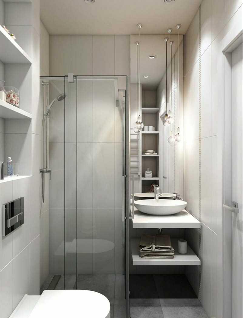 thiết kế phòng tắm nhỏ 2m2