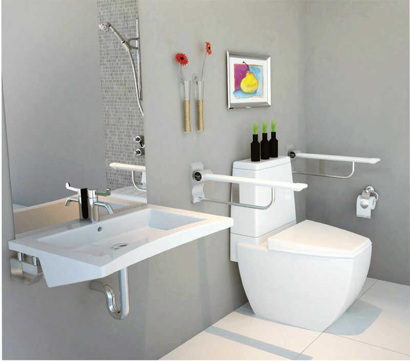 Thiết kế phòng tắm 2m2 đơn giản