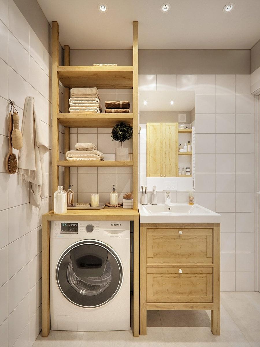 thiết kế nội thất phòng tắm nhỏ