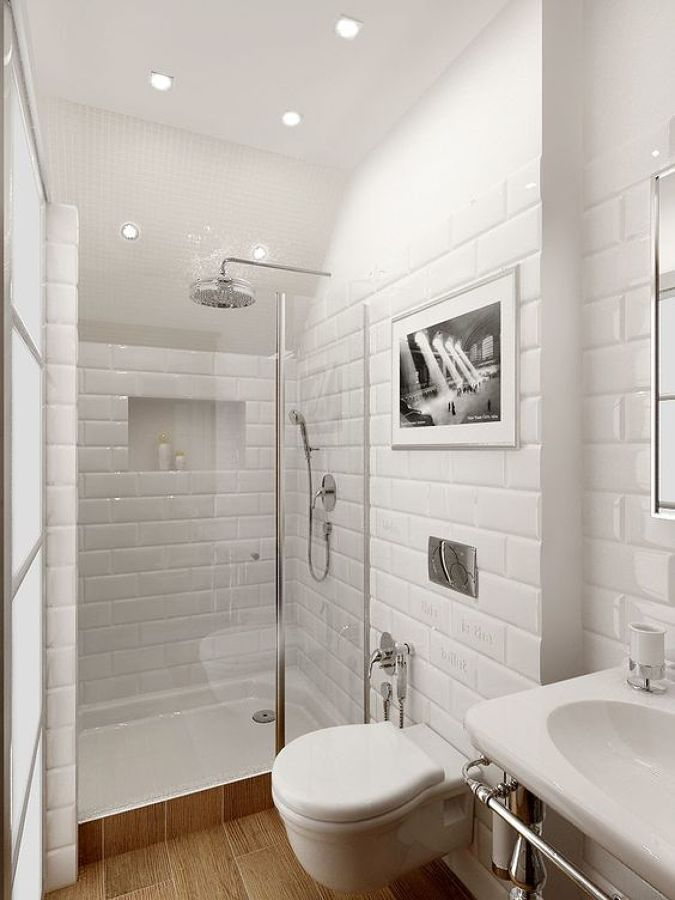 thiết kế phòng tắm nhỏ