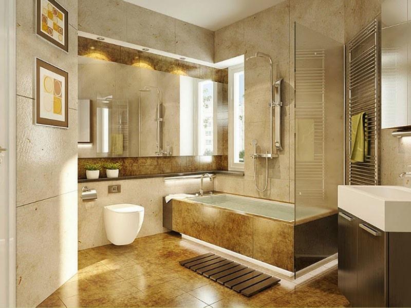 thiết kế phòng tắm nhỏ hiện đại đẹp