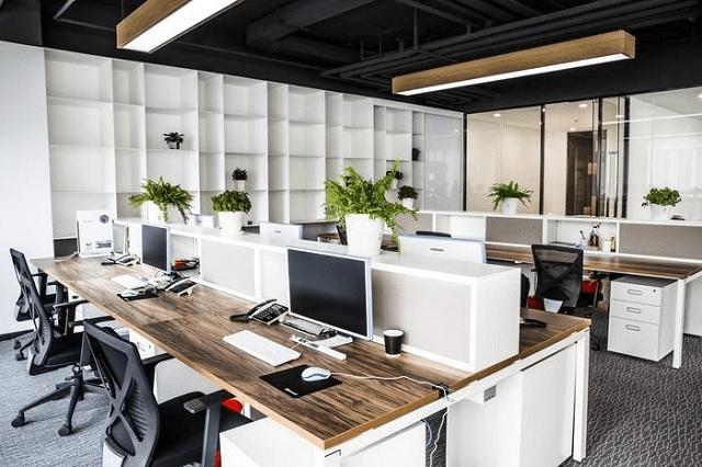 thiết kế văn phòng 30m2