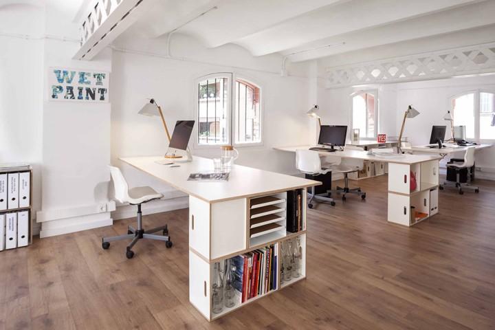 thiết kế văn phòng 40m2